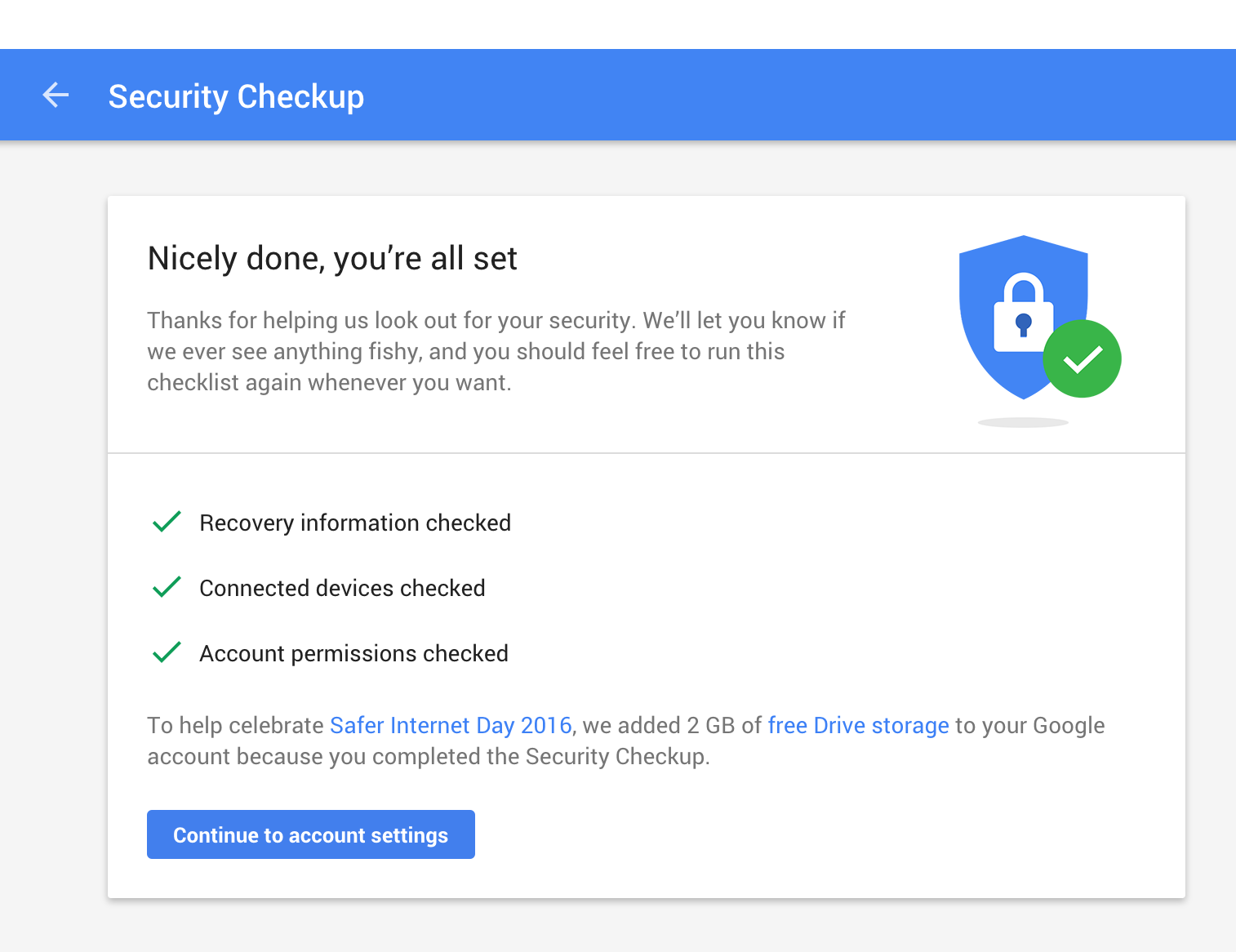 Google Account Security Checkup web screenshot 001