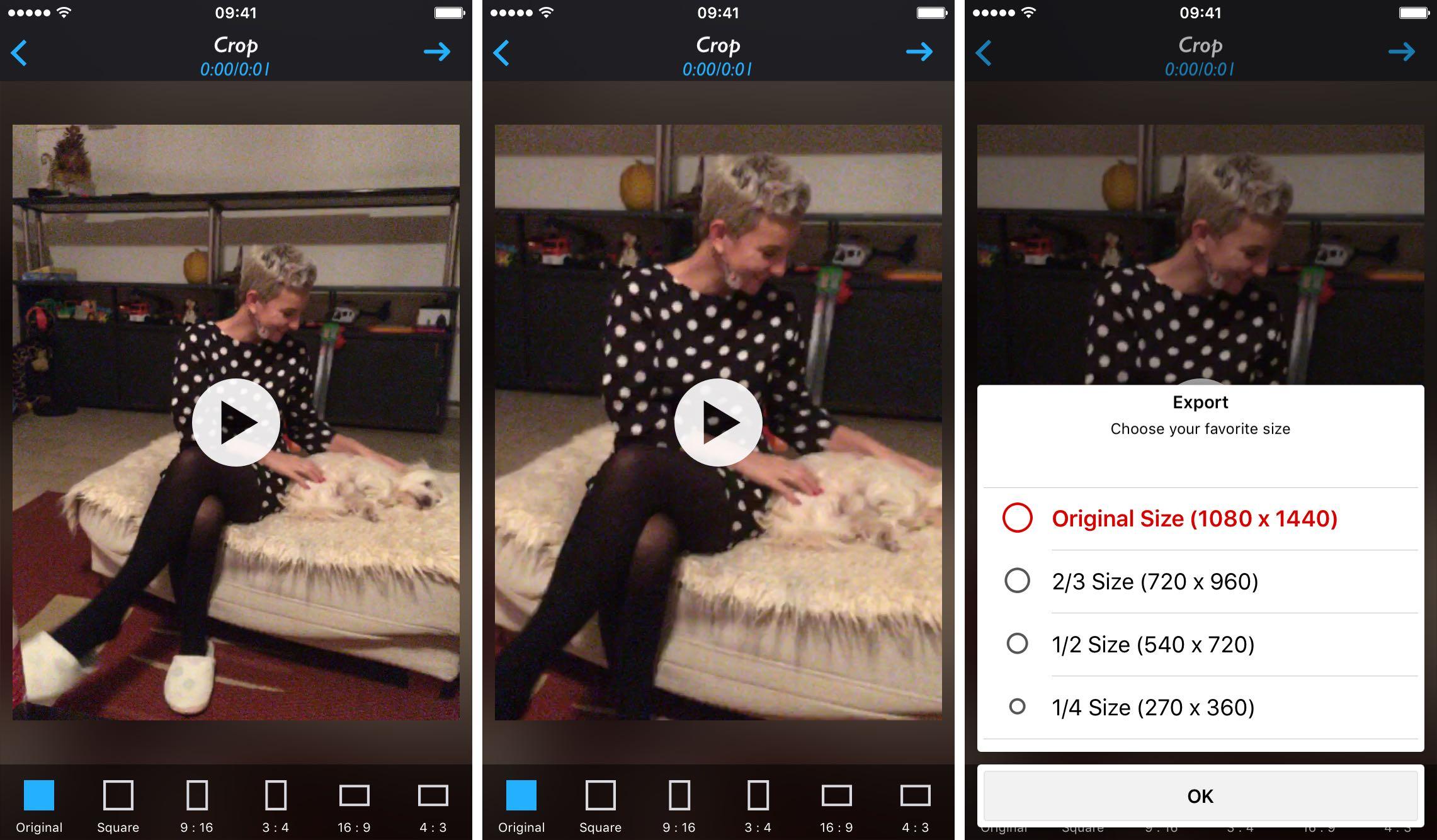 Captura de pantalla 002 de Live Crop 1.0 para iOS iPhone
