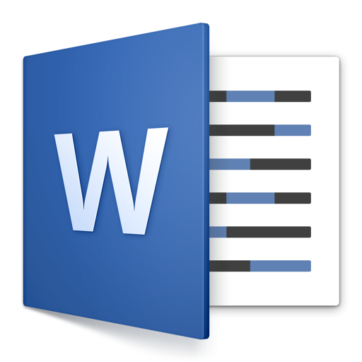Microsoft Word App Icon Large