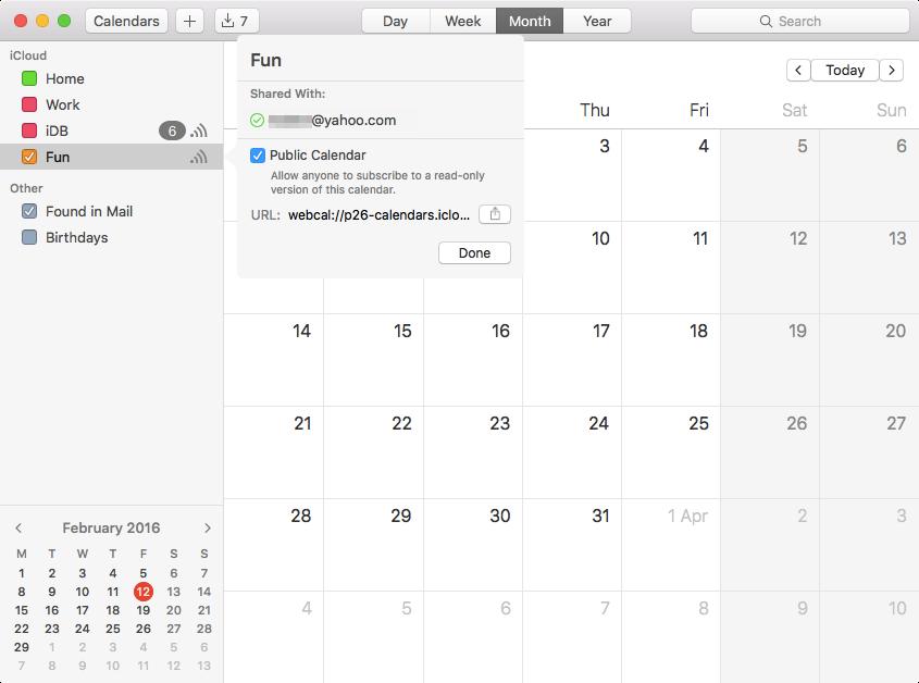 Track calendar invitation status