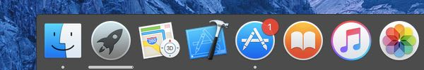 Dock Opaque -reduce transparency mac