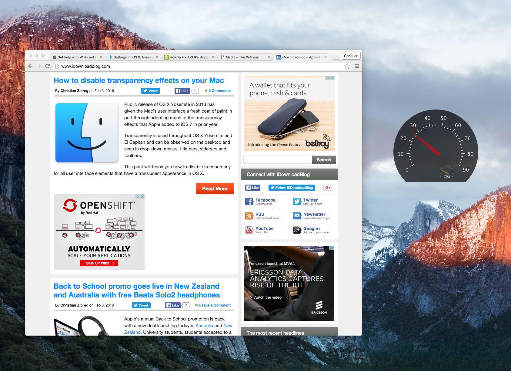 Quartz Debug Mac screenshot 004