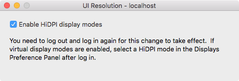 How to measure Mac frame rates and enable HiDPI display modes on