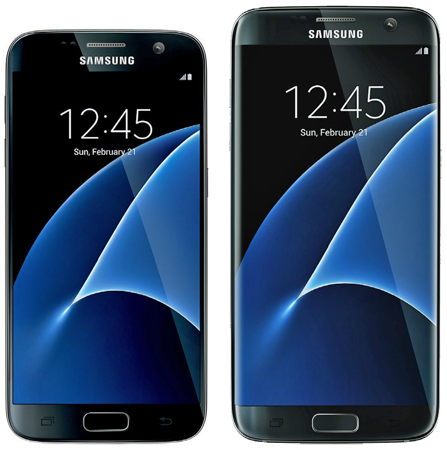 Samsung Galaxy S7 front rendering 001