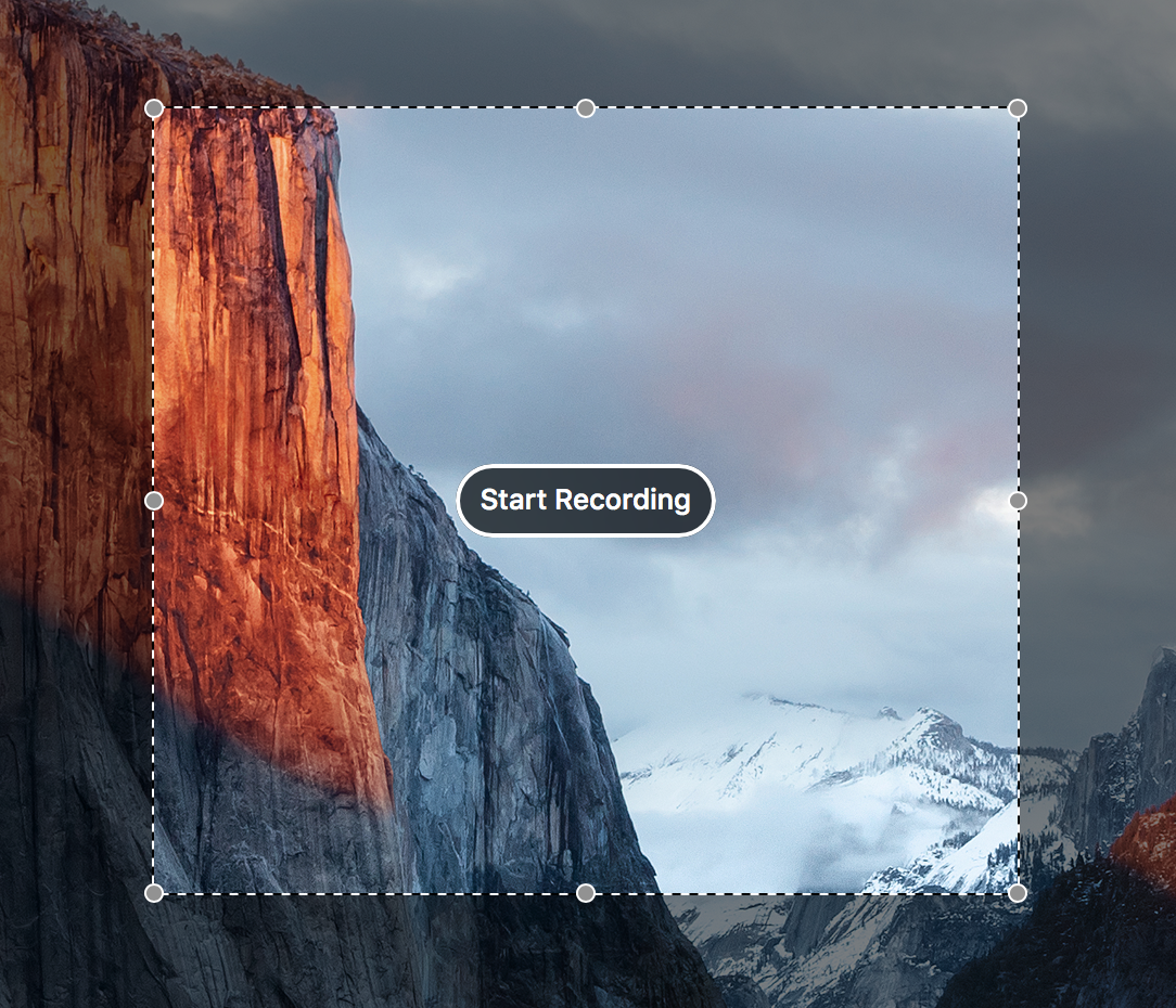 record screen mac quicktime cropped area