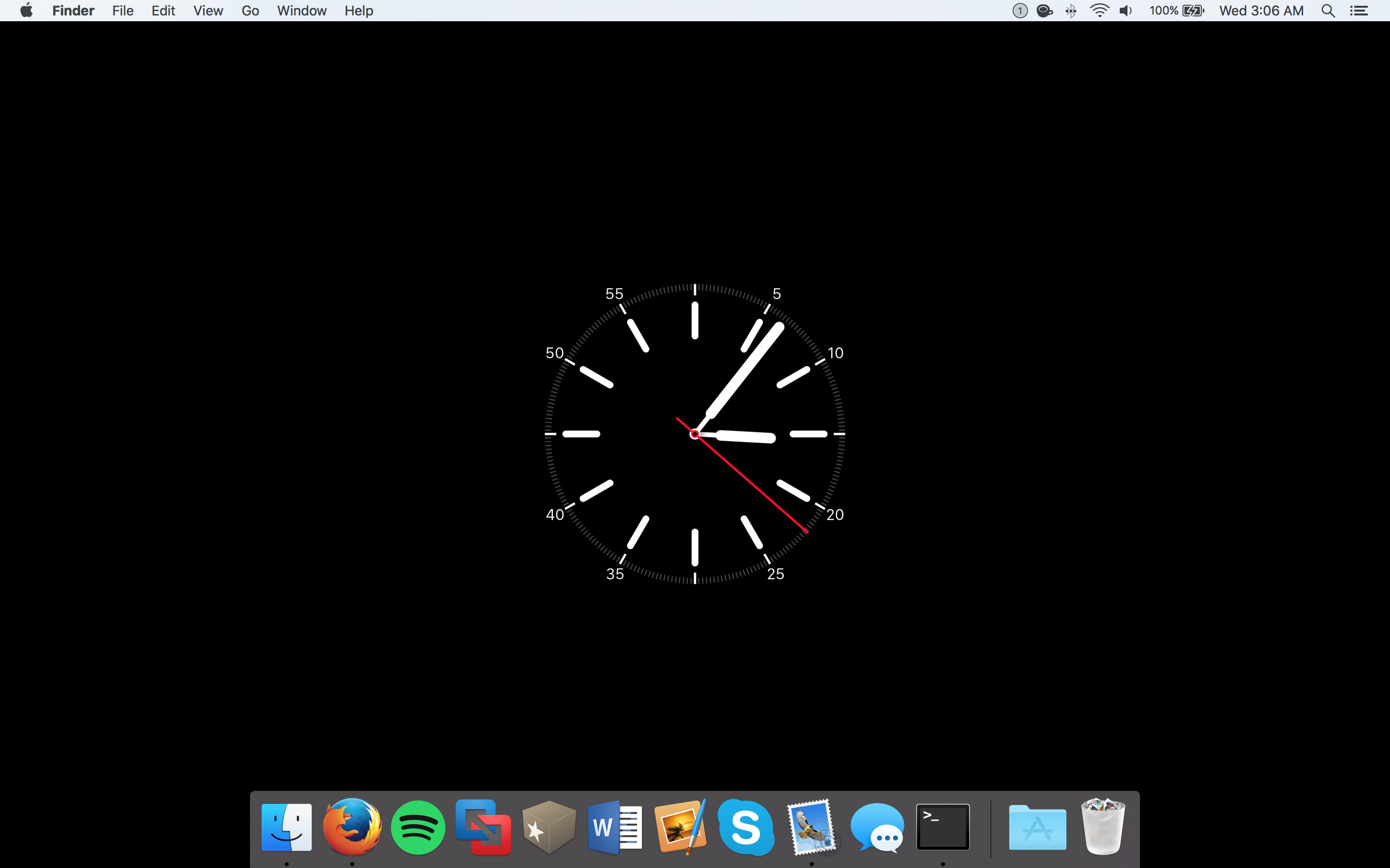 ow to set screensaver as wallpaper on mac