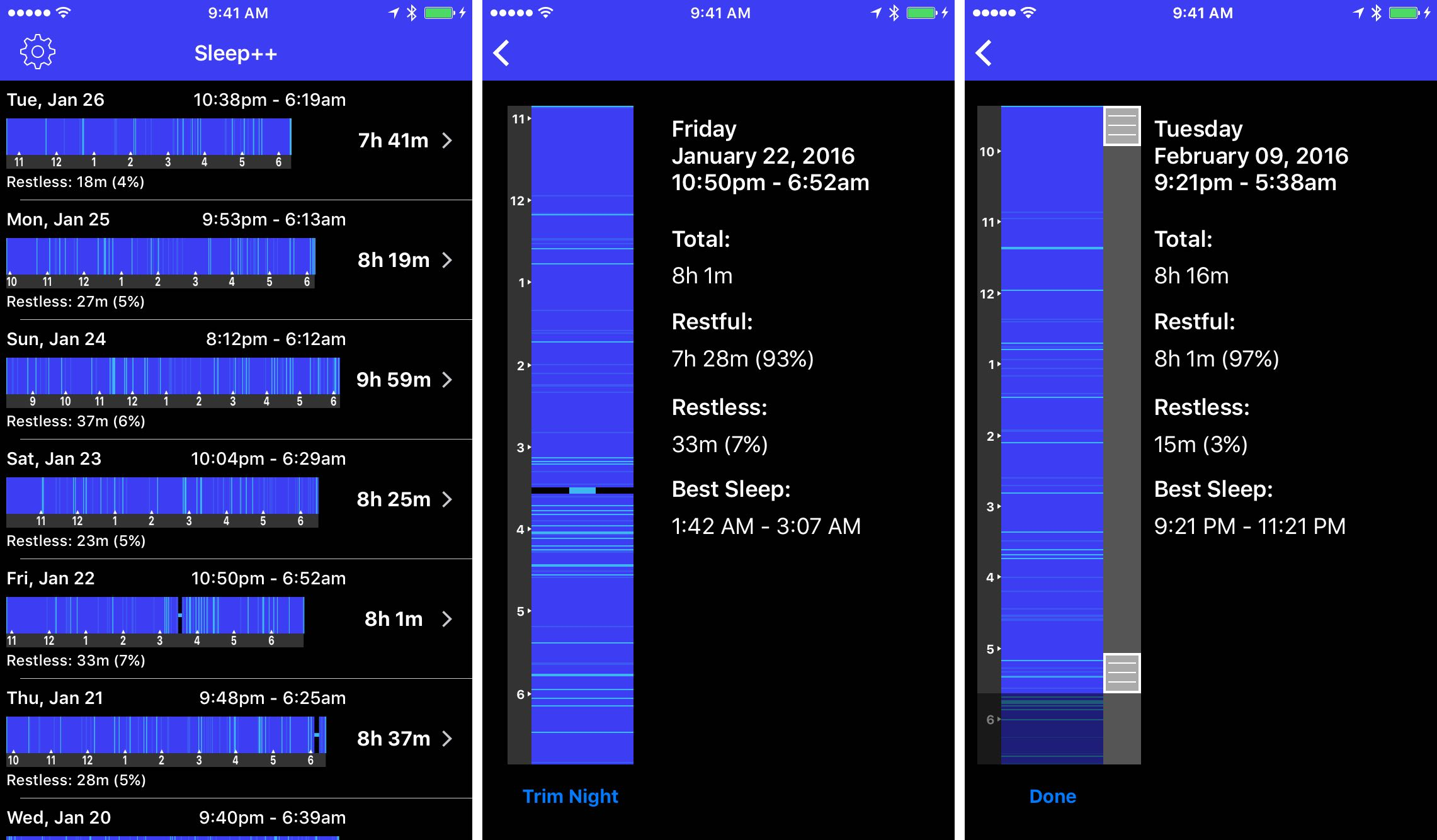 sleep analysis iphone review boost your sleep analysis with much improved 12985