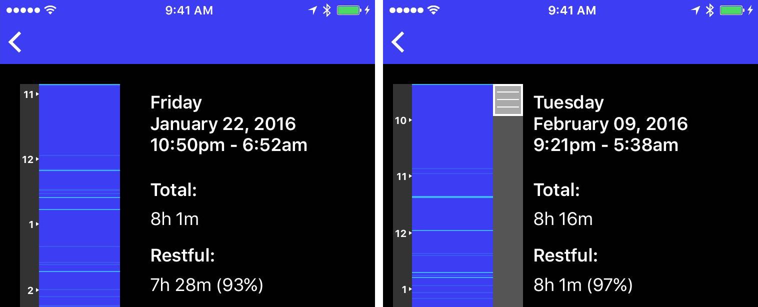 Sleep PlusPlus 2.0 for iOS iPhone screenshot 003