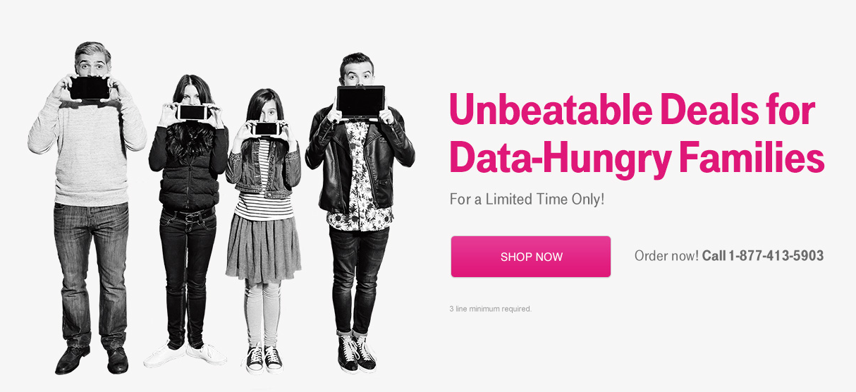 T-Mobile Family Match promotion