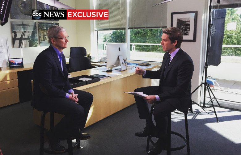 Tim Cook FBI on ABC News image 001