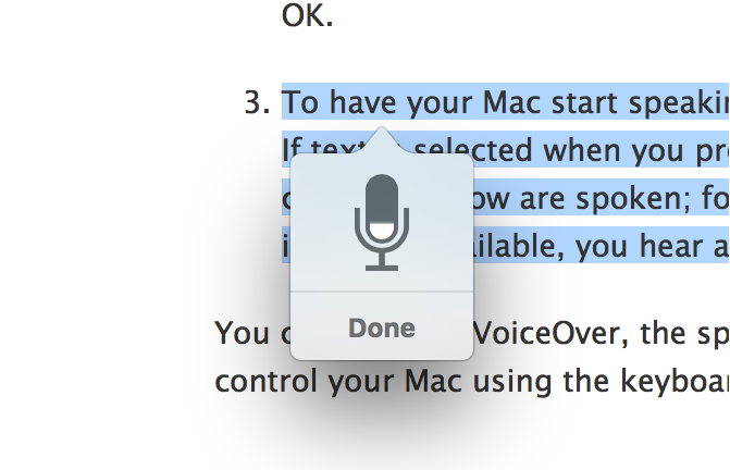 How to get your Mac to speak any selected text