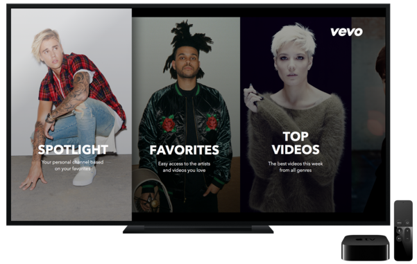 Vevo for Apple TV tvOS screenshot 002