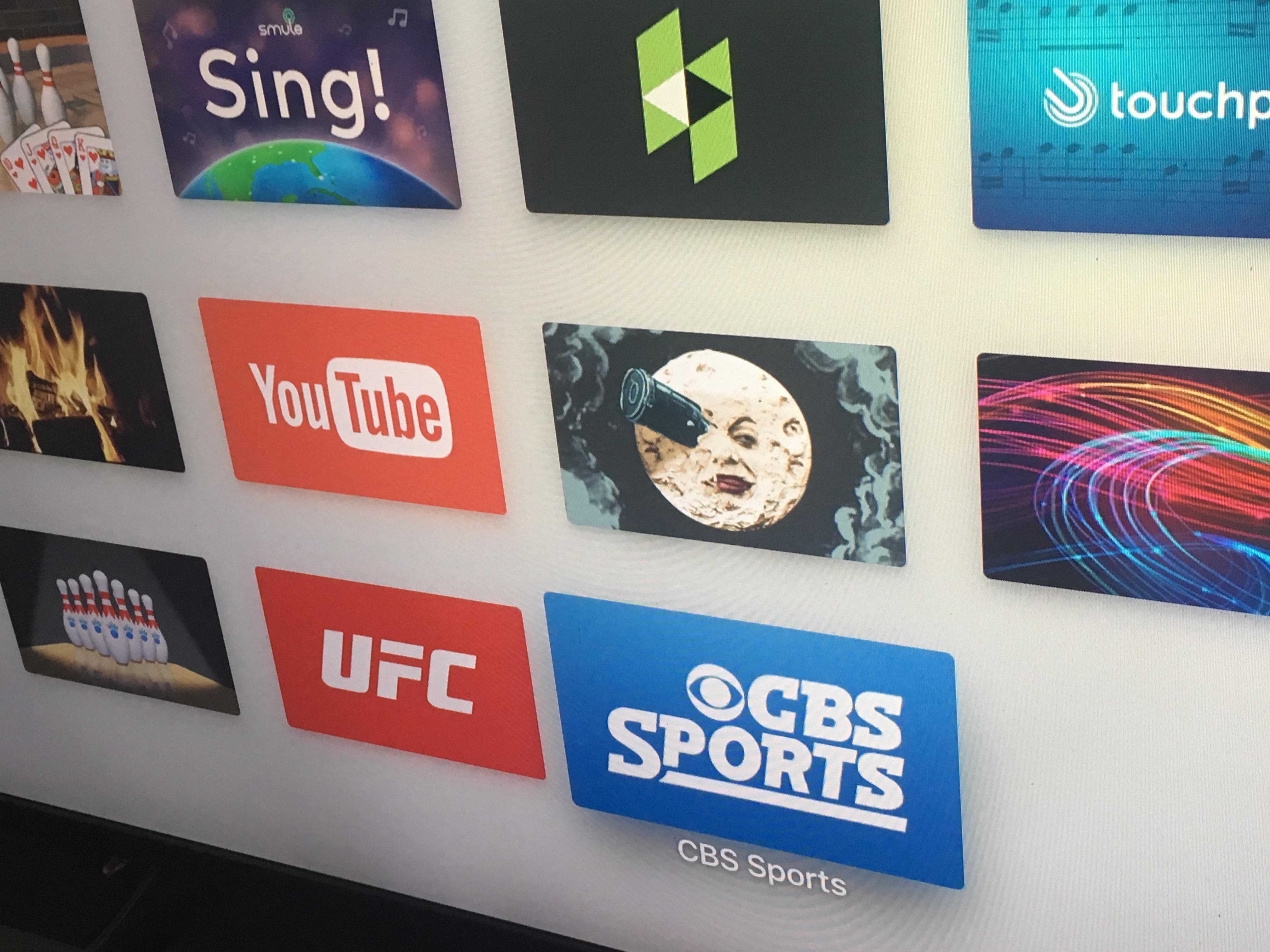 apple tv cbs