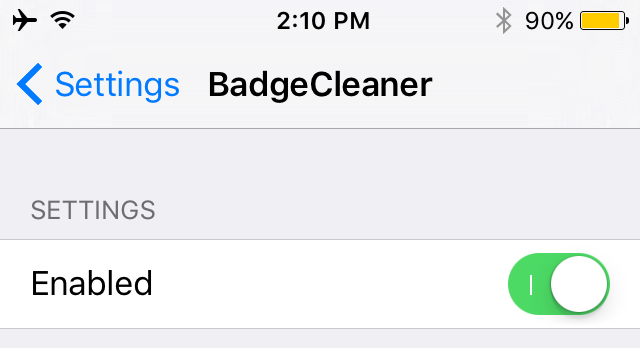 badgecleaner preferences pane