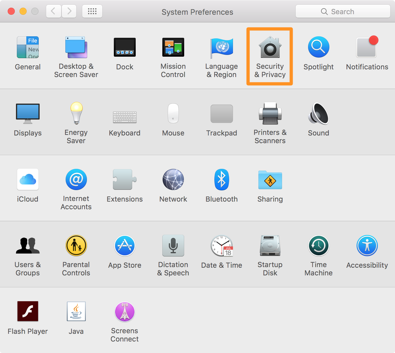 gatekeeper os x privacy and security system preferences