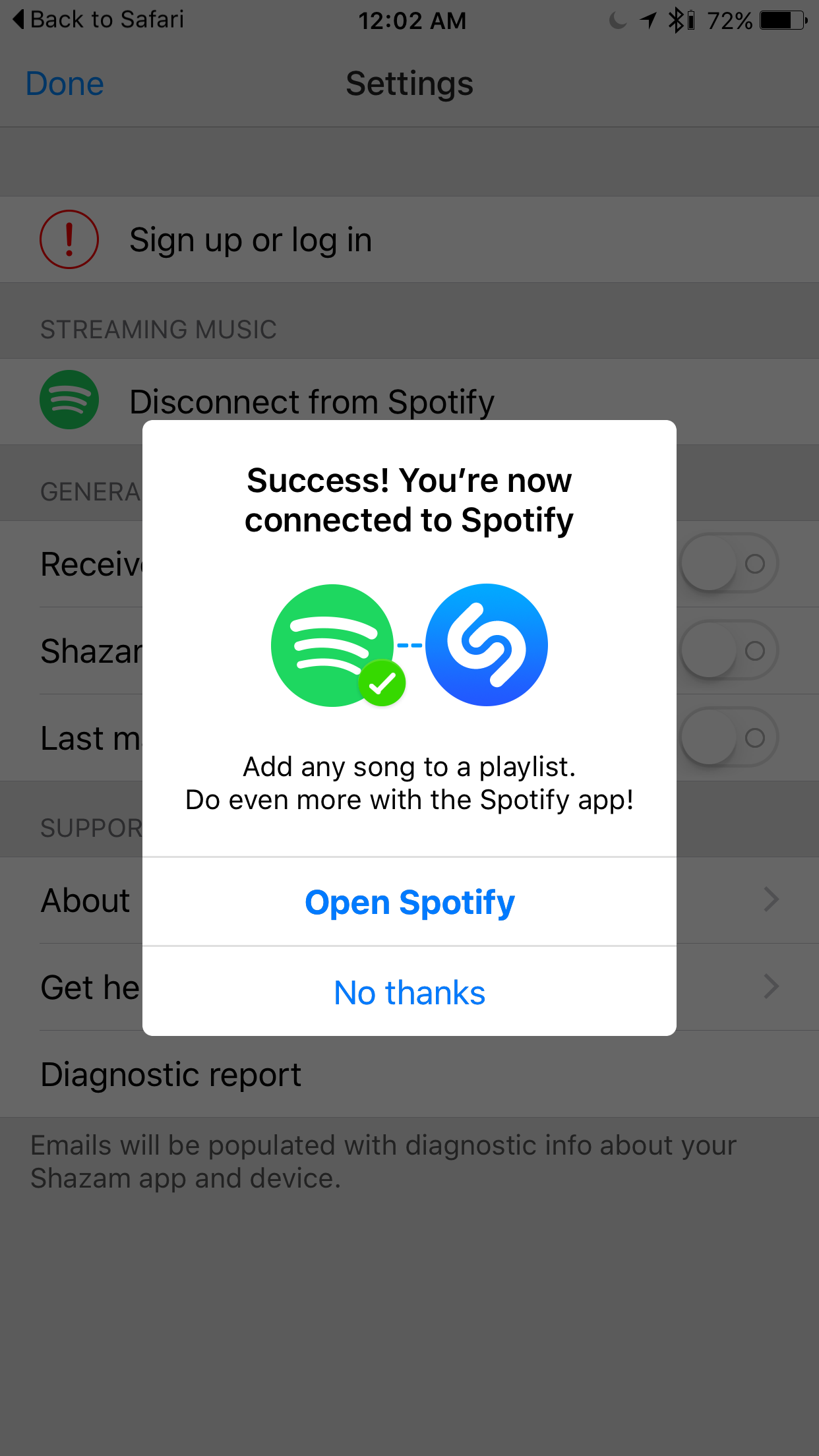 how to link spotify to shazam guide 3