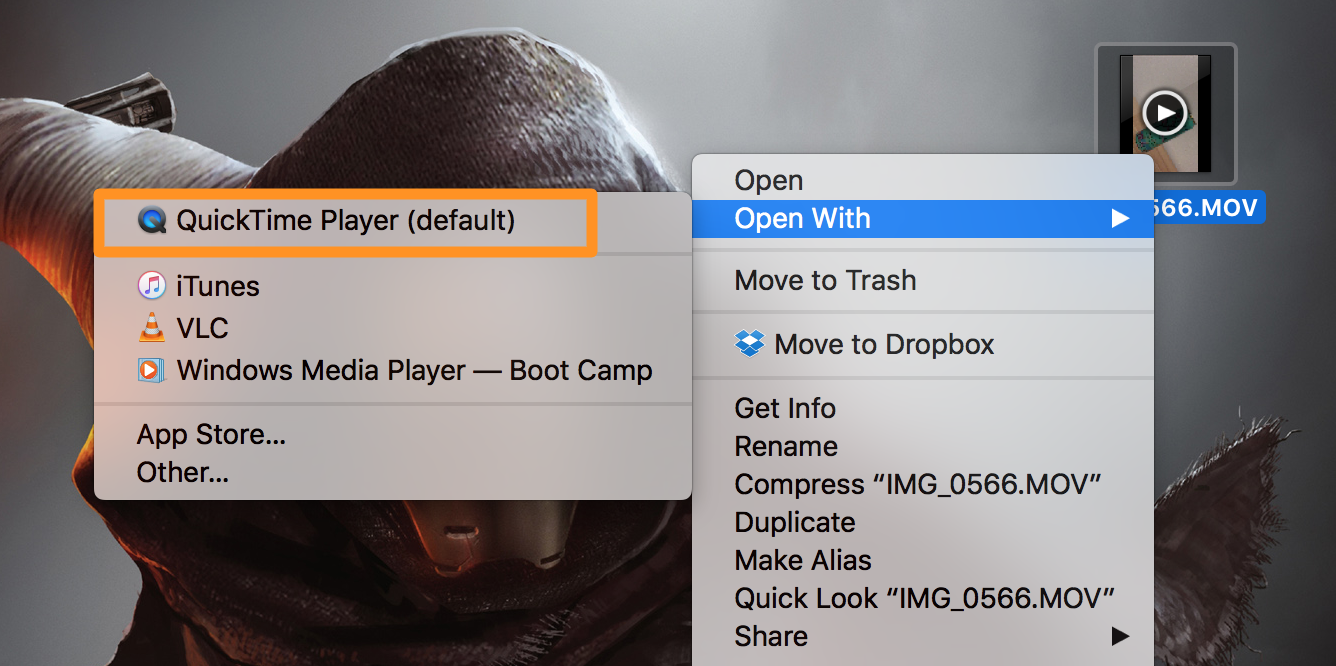 how to rotate a video with quicktime