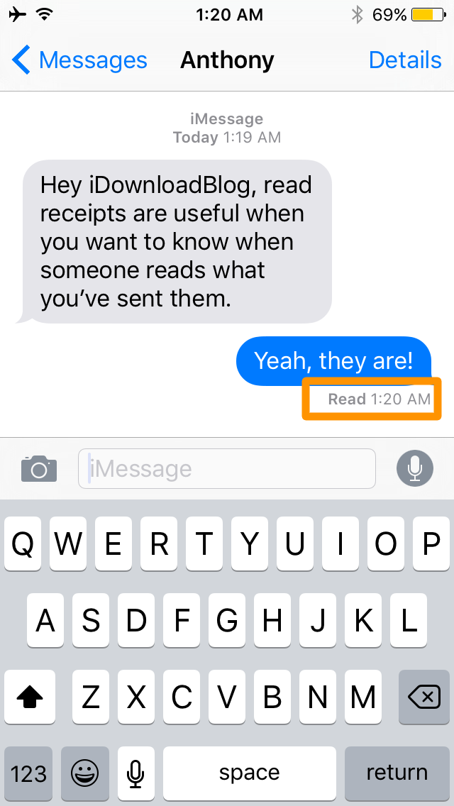 How to turn iMessage read receipts on and off