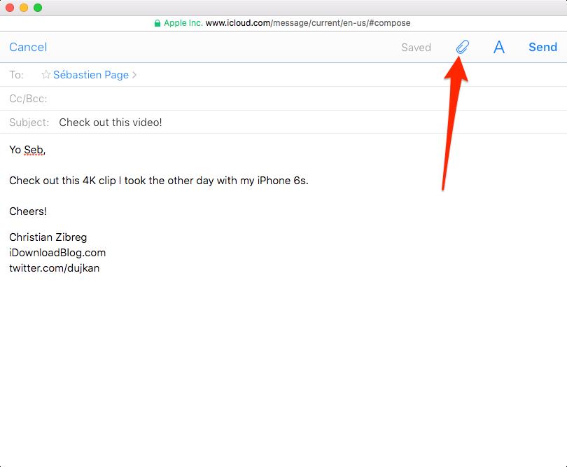 mail mac attachment size limit