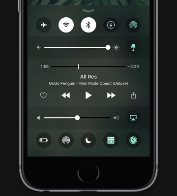 iOS 10 Control Center concept Sam Beckett image 001