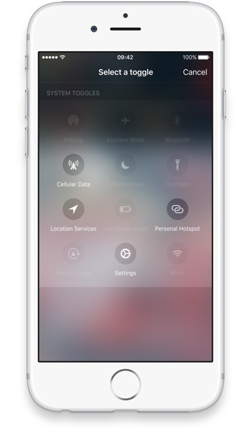 iOS 10 Control Center concept Sam Beckett image 003