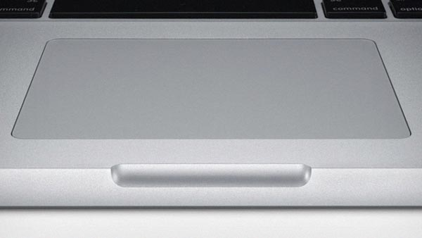 Macbook trackpad multitáctil