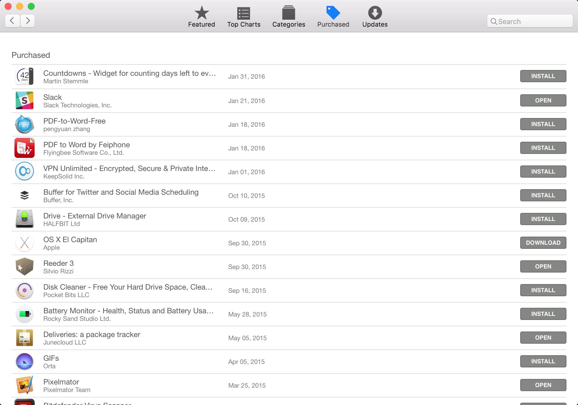 app store download