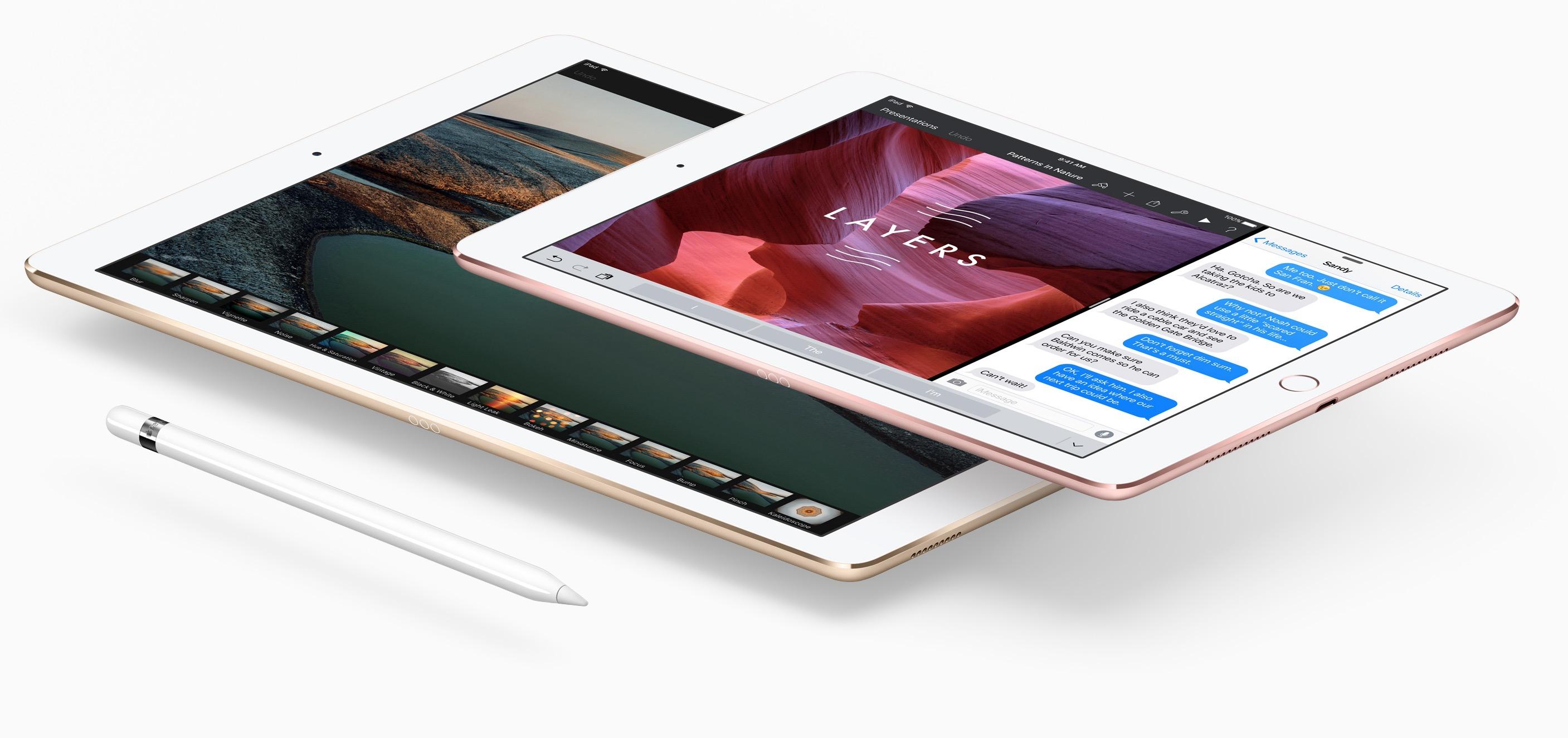 Both iPad Pro