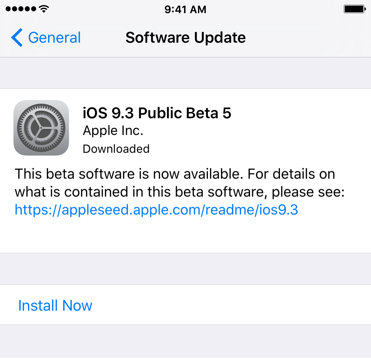 Check for updates in iOS