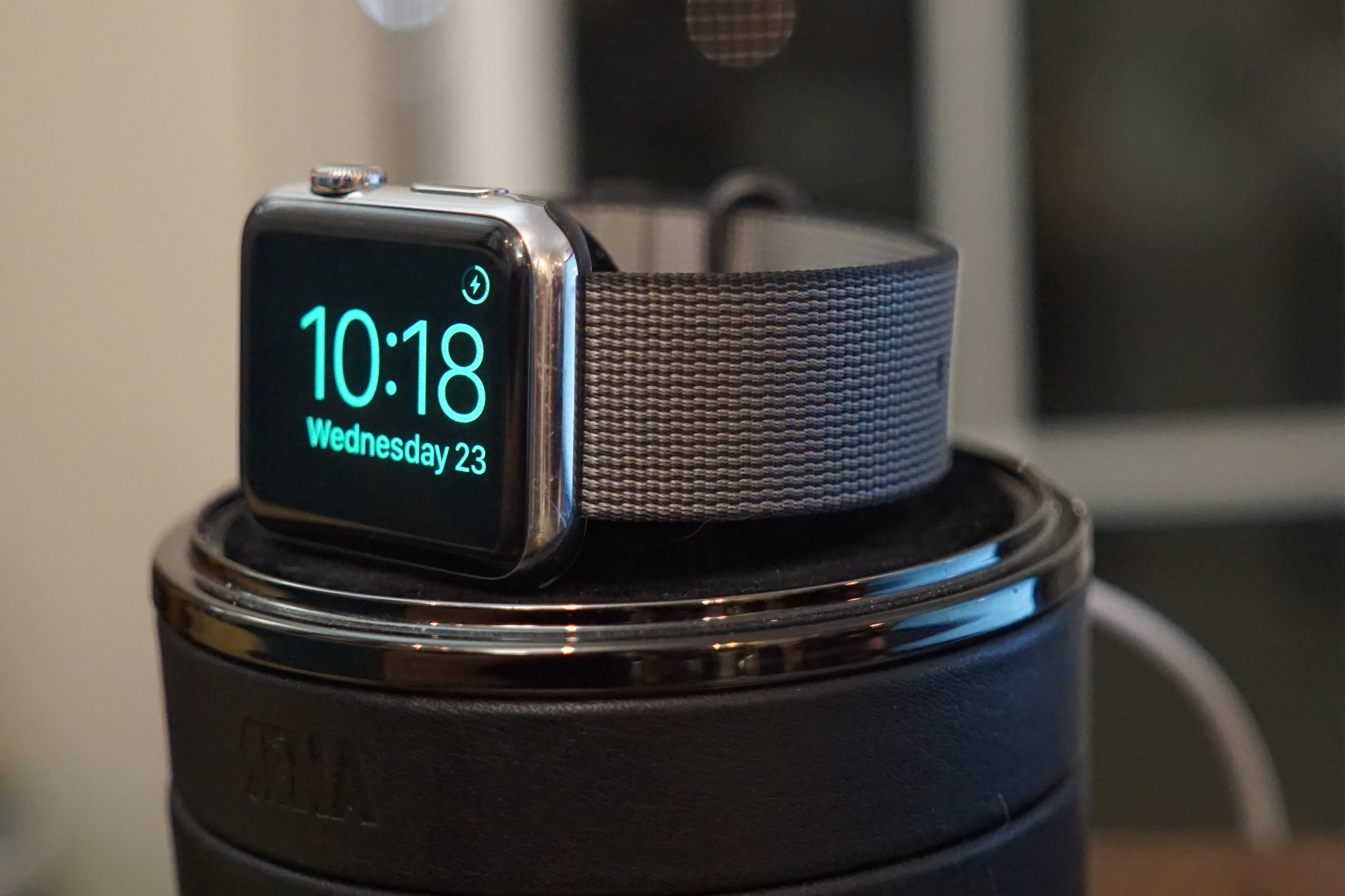 Nylon Watch Band charging