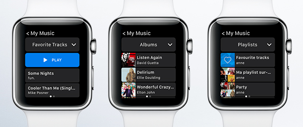 Deezer for Apple Watch screenshot 002