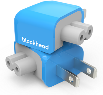 Design One Blockhead power adapter image 001