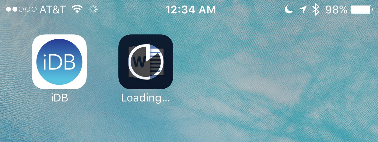 Download another app
