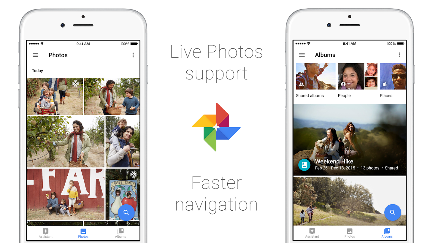 Google Photos Live Photos update