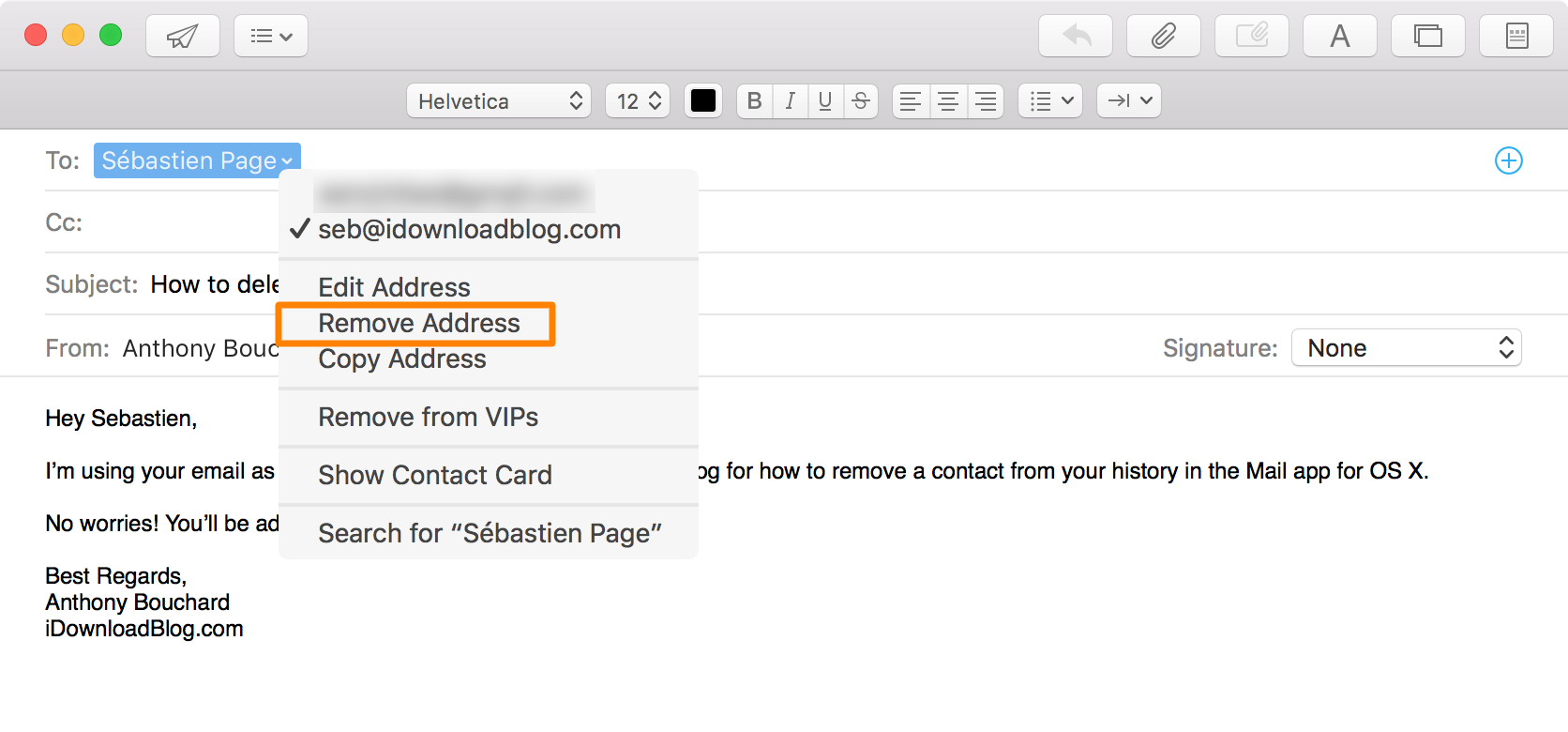 How Do I Remove Suggested Email Addresses From Apple Mail ...