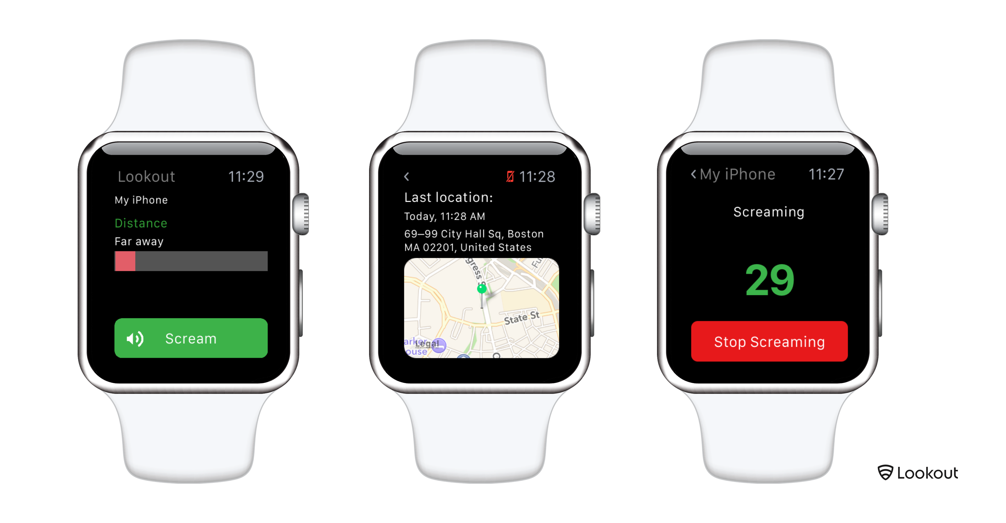 Lookout para iOS Apple Watch teaser 001