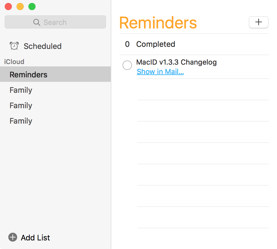 Mail App Drag to Reminders App OS X