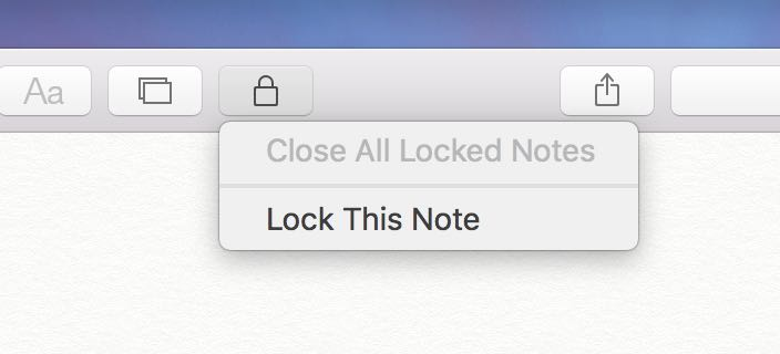 OS X El Capitan Notes password protection Mac screenshot 002