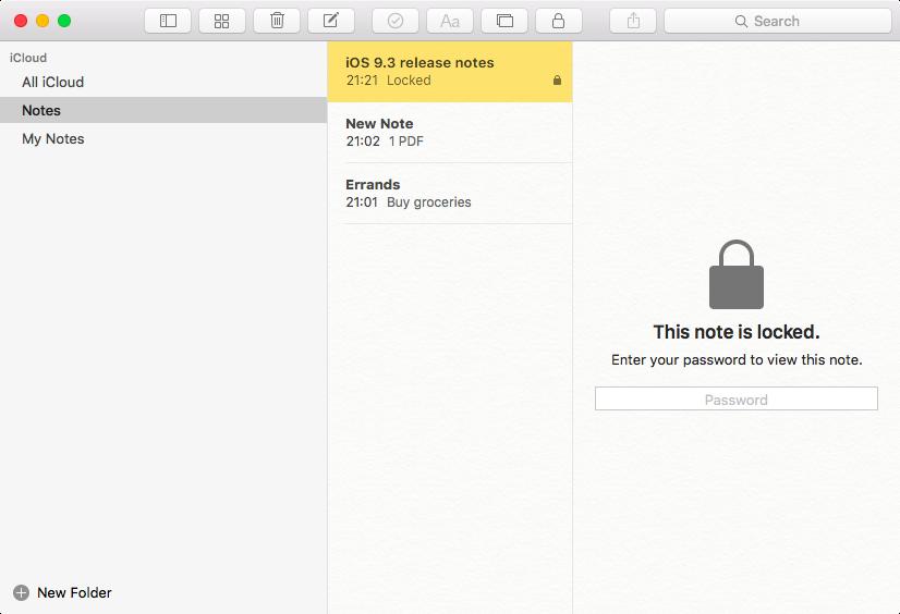 OS X El Capitan password protection Mac screenshot 004