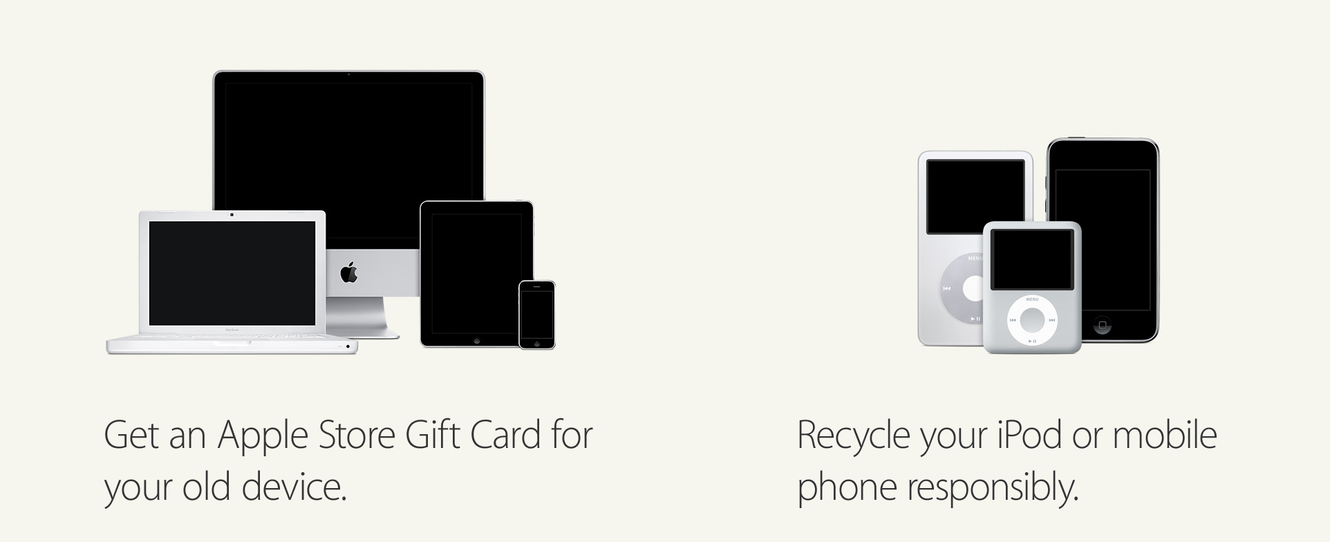 Apple Recycling Program Guide Banner