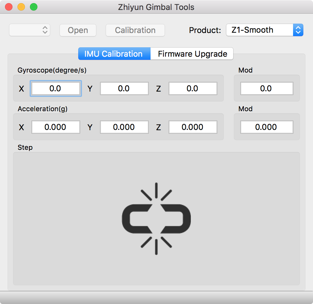 smooth-c gimbal software mac