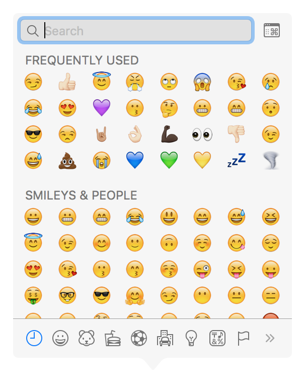 Mac Emoji Keyboard