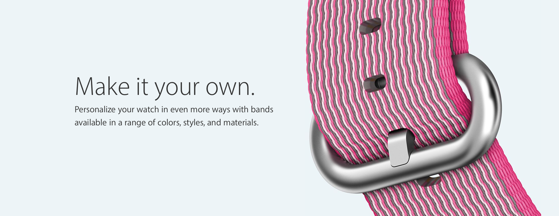 New Nylon Apple Watch Bands