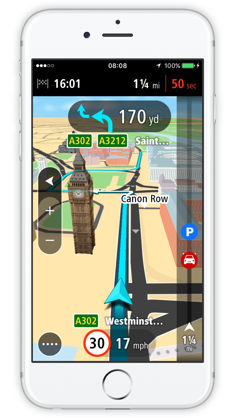 TomTom Go Mobile 1.0 for iOS teaser 001