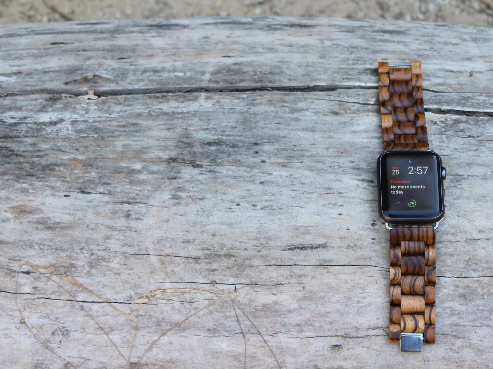 Ottm Zebrawood Apple Watch Band