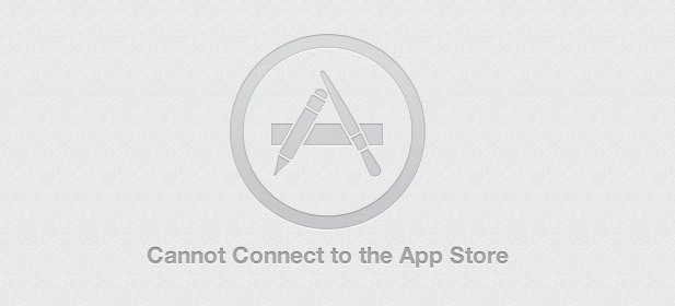 Cannot connect to App Store error on Mac