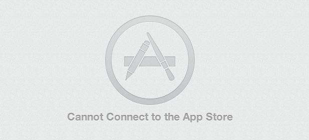 No se puede conectar al error de App Store en Mac