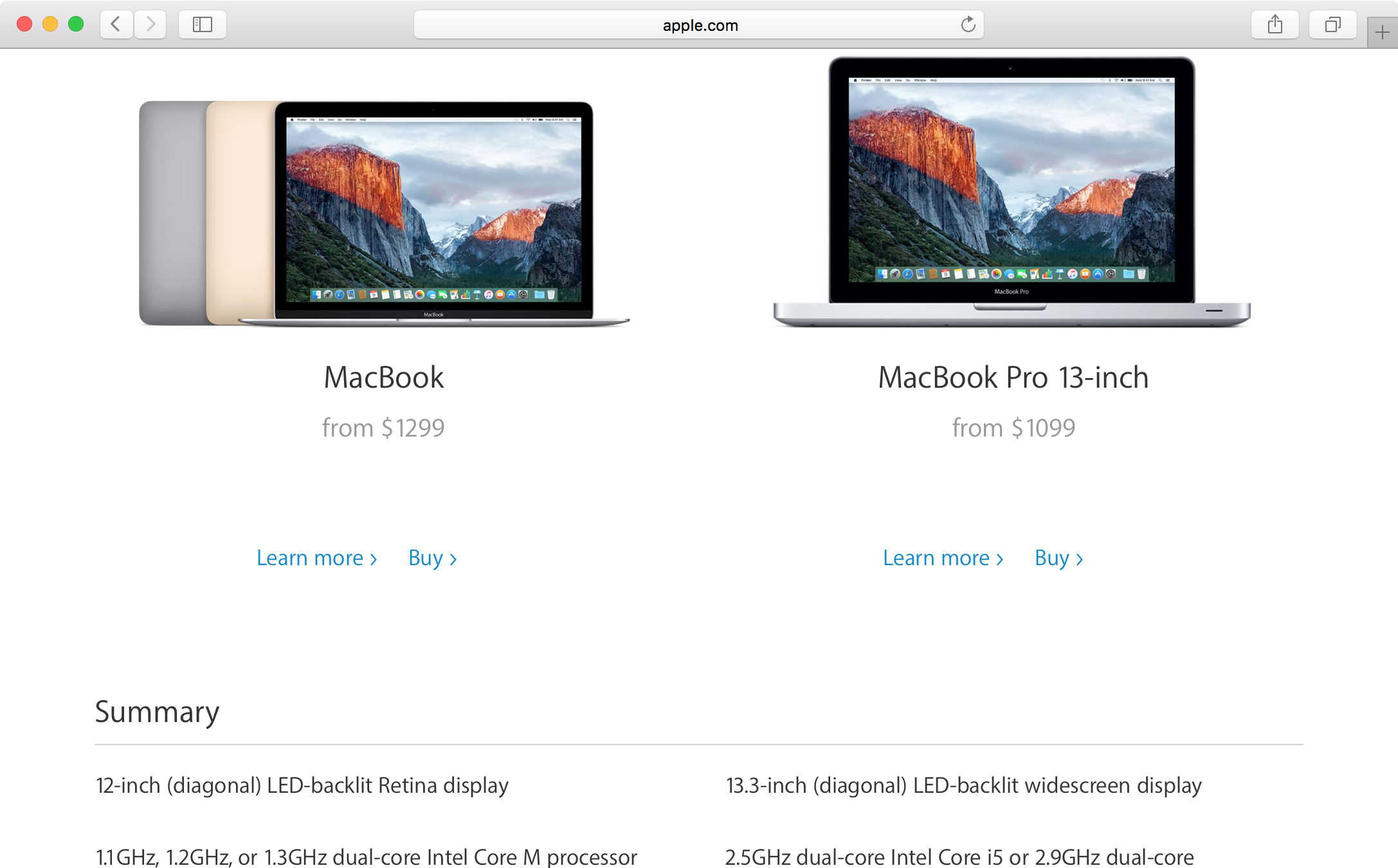 compare mac models 3