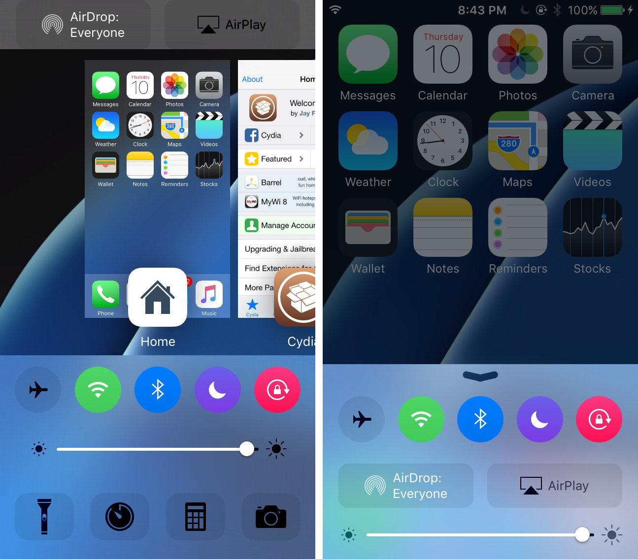 cream compatible with polus and flipcontrolcenter