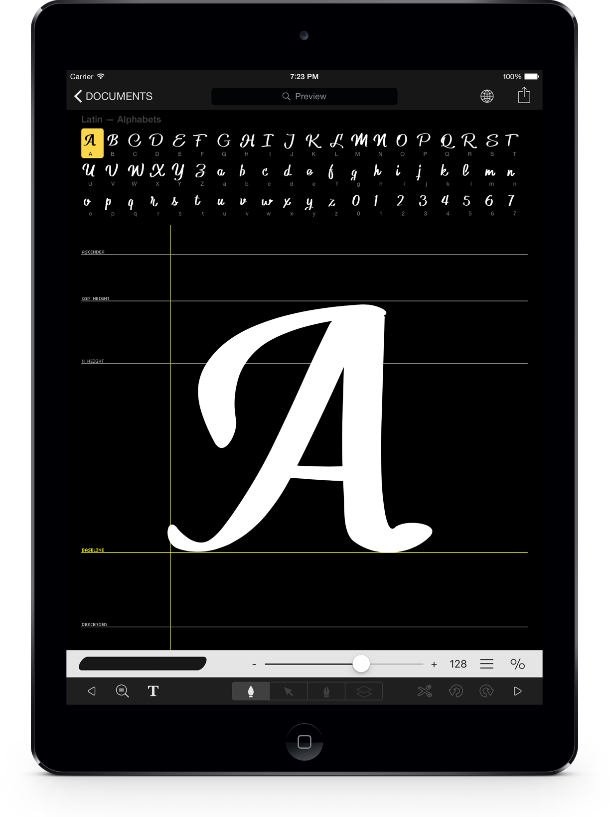 iFontMaker 2.7 for iOS iPad teaser 001